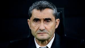 El exentrenador del Barça Ernesto Valverde.