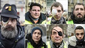 Els 'armilles grogues' denuncien la violència policial