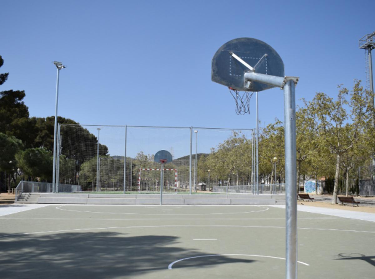 Noves zones al parc de la Torre-roja de Viladecans