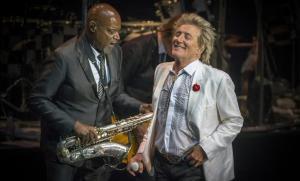 Rod Stewart, en el concierto del verano del 2016 en el Festival de Cap Roig.