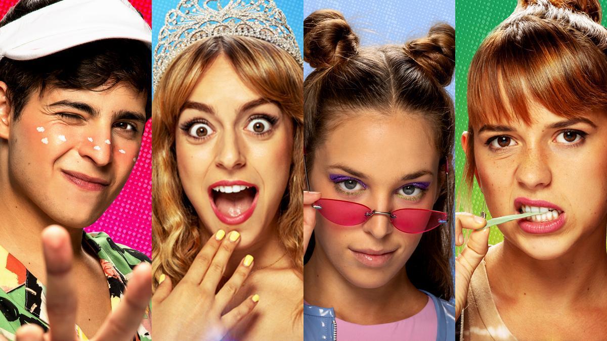 Flooxer desvela el cartel oficial de 'La reina del pueblo' y presenta a sus personajes