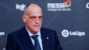 Tebas fixa el retorn de la Lliga amb el Sevilla-Betis l'11 de juny