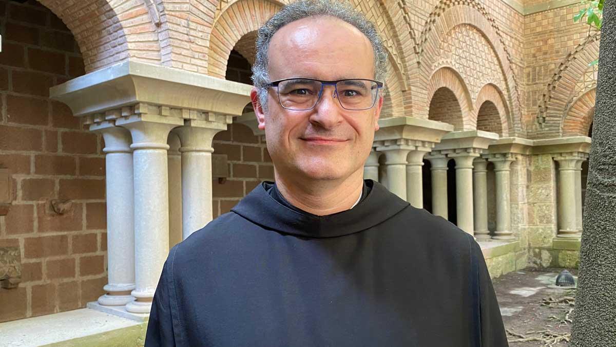 El padre Manel Gasch, nuevo abad de Montserrat.