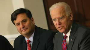 Ron Klain con Joe Biden.