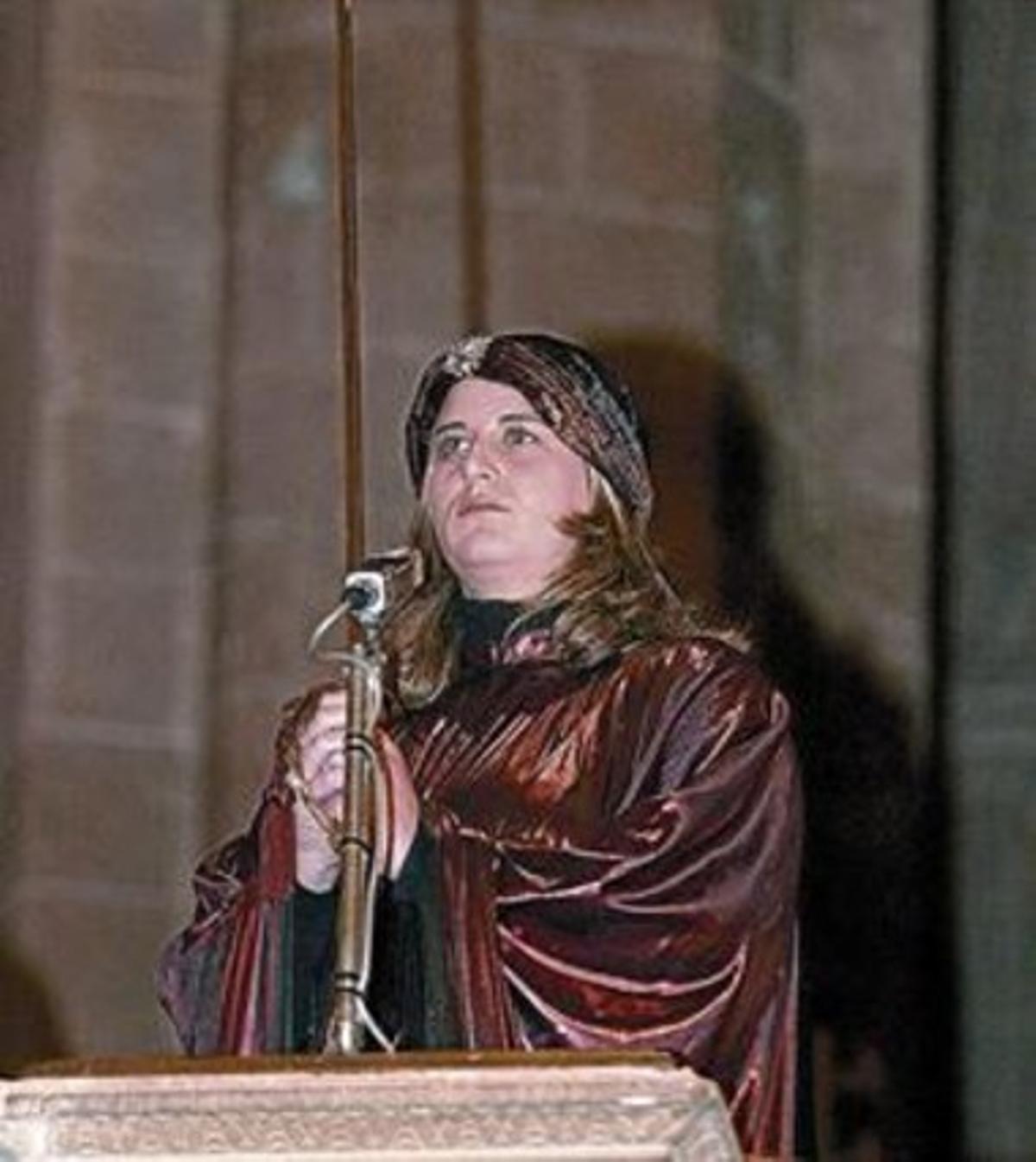 El 'Cant de la Sibil·la' en la catedral de Palma de Mallorca, en el 2004.