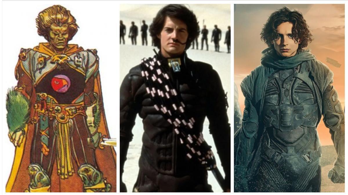 Imágenes de 'Dune' de Jodorowsky, Lynch y Villeneuve