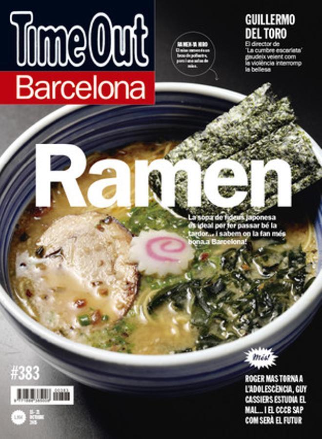 La portada d'aquesta setmana de la revista 'Time Out'.