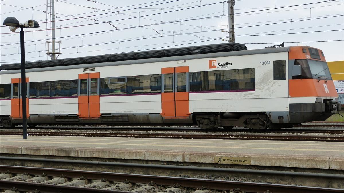 Un tren de Rodalies.
