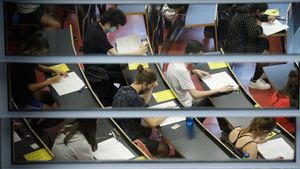 A penes el 5% dels alumnes de selectivitat demanen l'examen en castellà