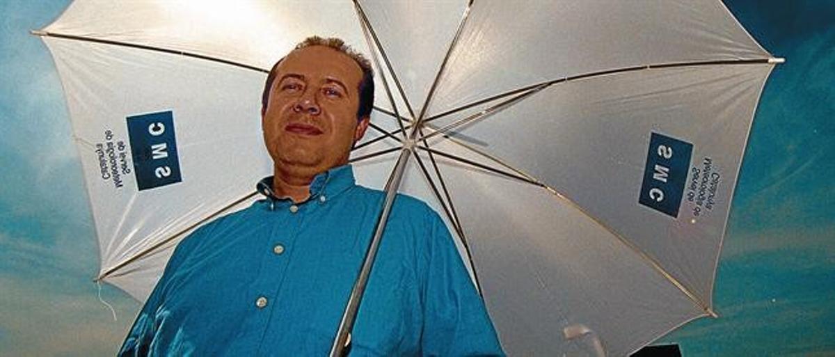 Oriol Puig, director del Servei Meteorològic de Catalunya.