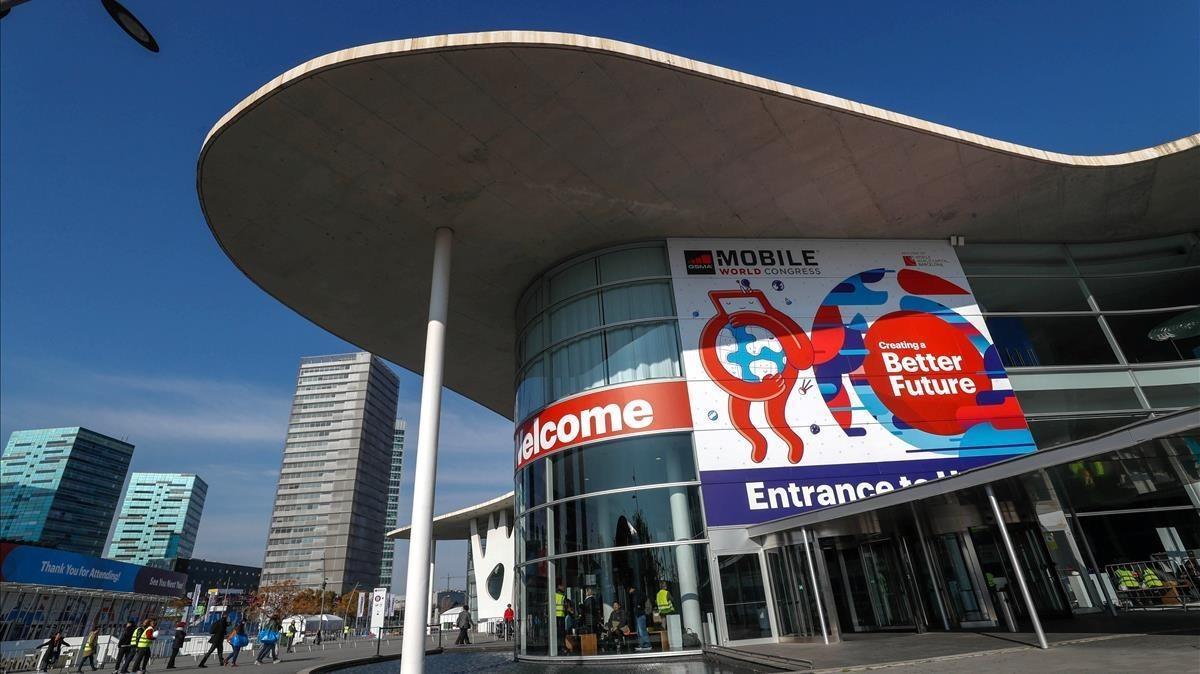 Una imagen del Mobile World Congress del 2018, en Barcelona.