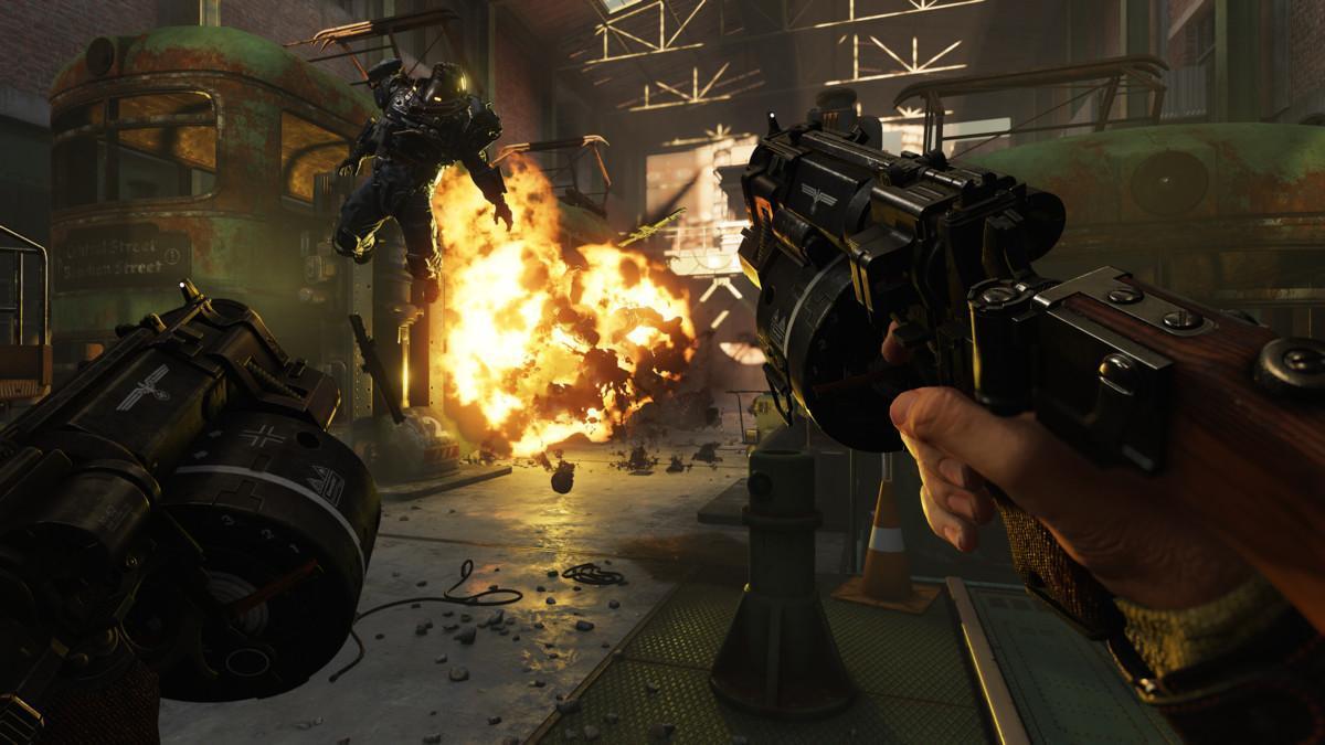 Wolfenstein 2 The New Colossus.