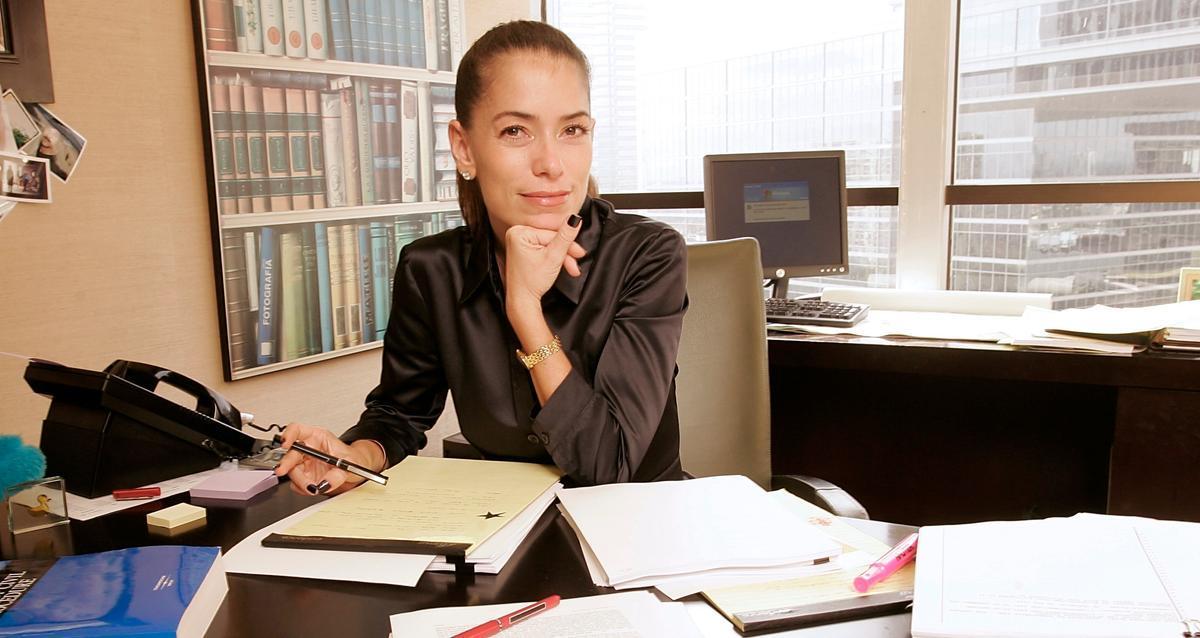 Laura Wasser, en su despacho de Los Ángeles.