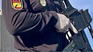 Control de la Policía los días del confinamiento.