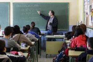 Alumnes en una escola.