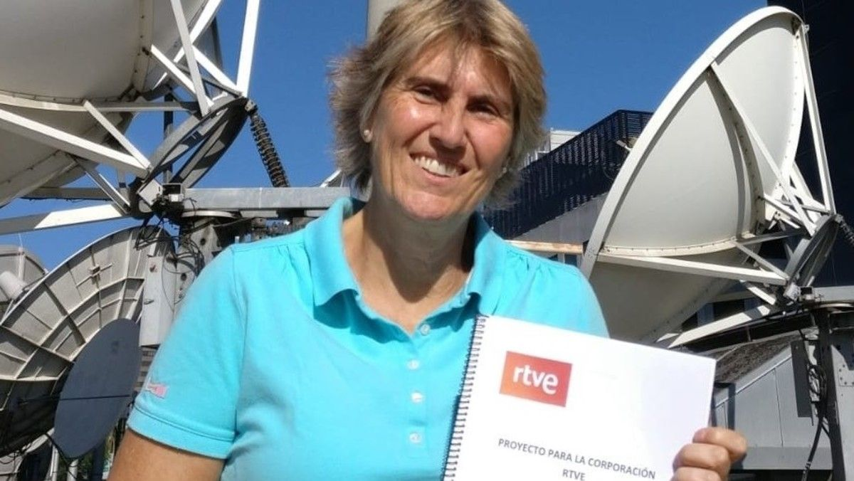 La periodista deportiva Paloma del Río presenta su candidatura a la presidencia de RTVE