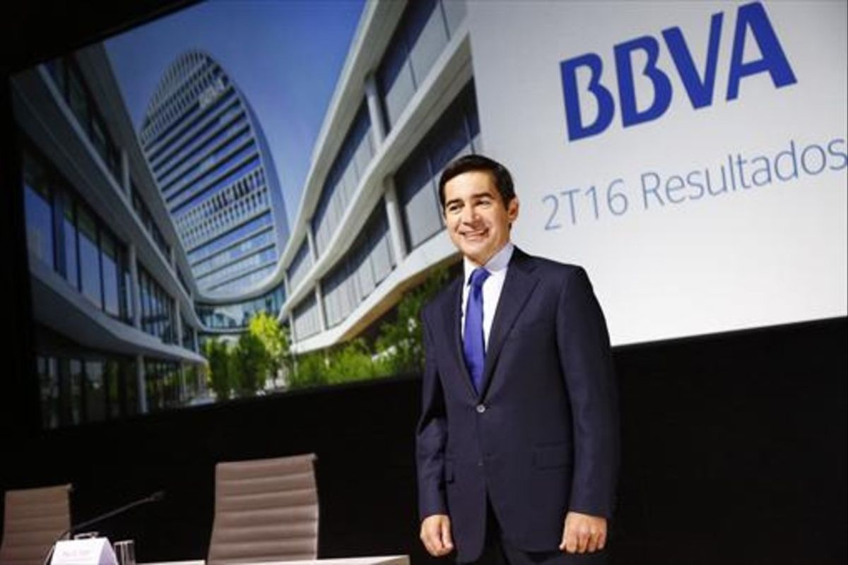Carlos Torres, presidente del BBVA.