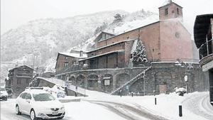 Coll d'Ordino, en una imagen del pasado mes de noviembre.
