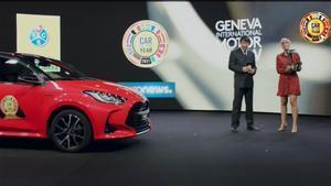 Toyota Yaris elegido Car Of The Year 2021