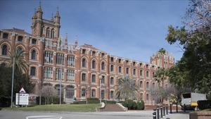 El colegio jesuita Sant Ignasi de Barcelona, donde se han denunciado abusos sexuales.