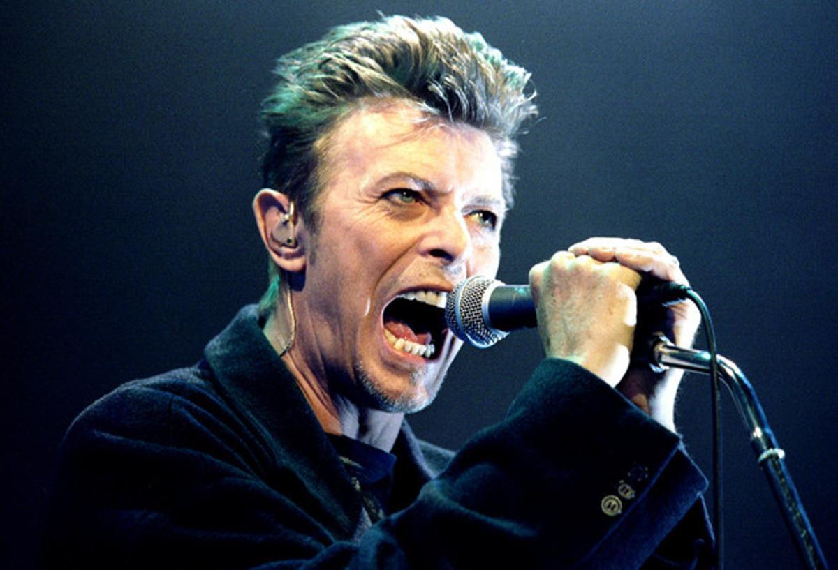 David Bowie, durante un concierto en Viena, en una imagen de archivo.