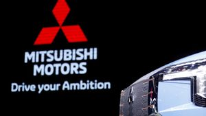 Estand de Mitsubishi en el último salón del automóvil de Tokio hace un año.
