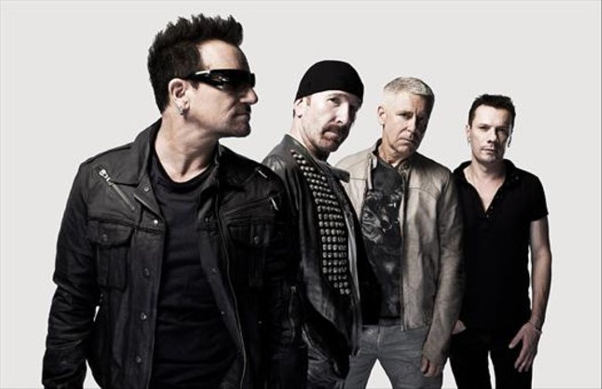 U2, en una imagen promocional.