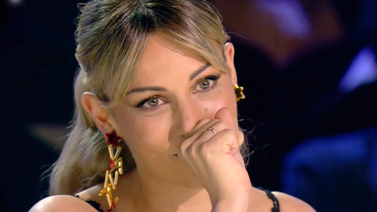 Edurne emocionada en 'Got Talent'