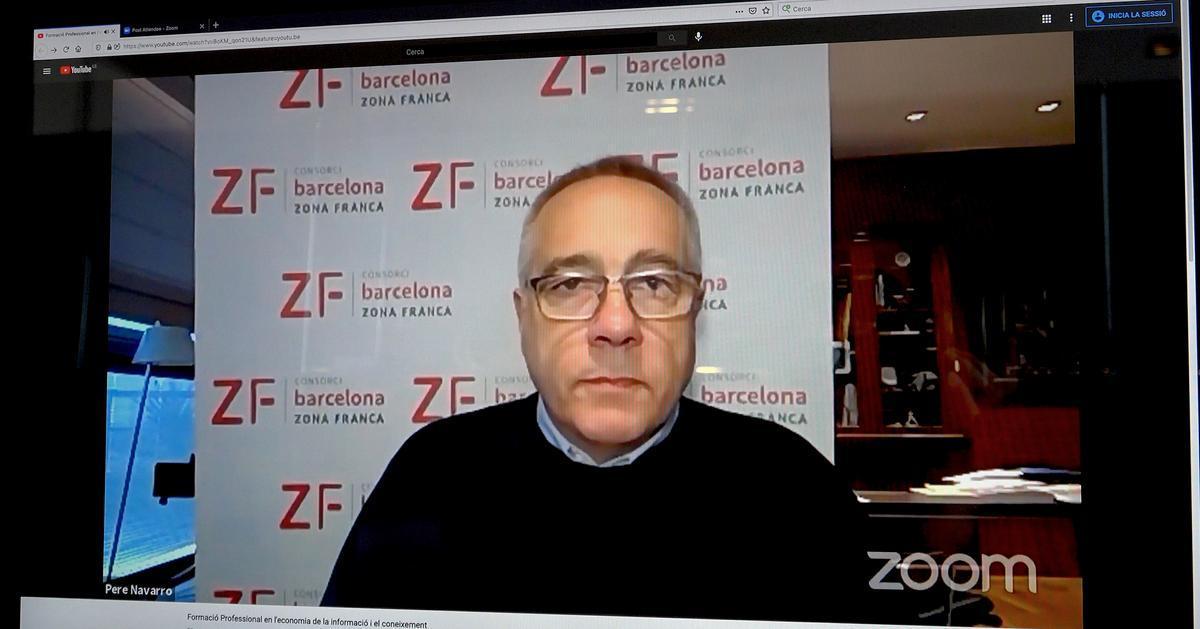 Pere Navarro, delegado especial del Estado en el CZFB.