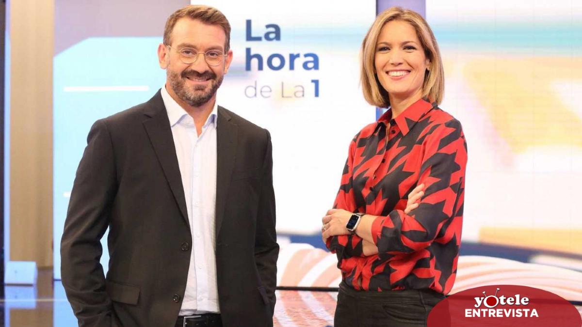 """Silvia Intxaurrondo y Marc Sala renuevan 'La hora de La 1': """"Queremos ayudar a huir de la polarización"""""""