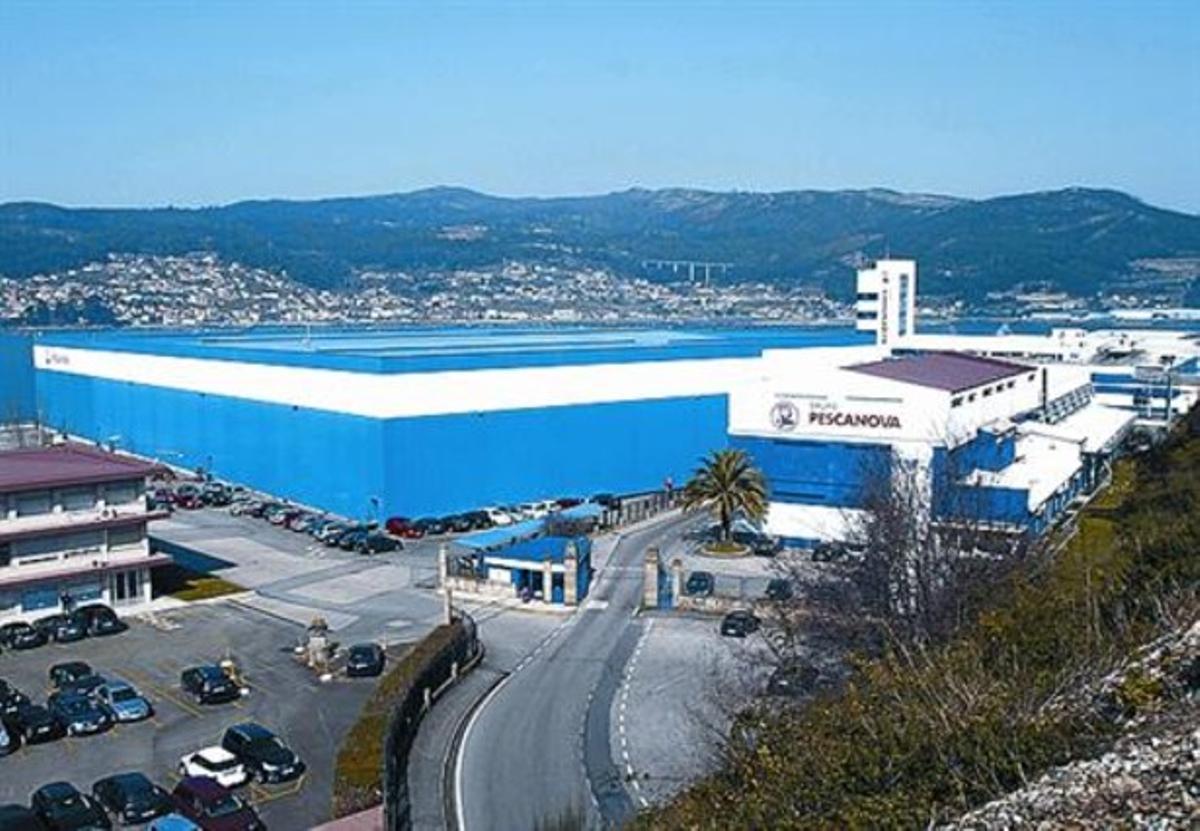 Gigante alimentario 8 Instalaciones de Pescanova en Redondela.
