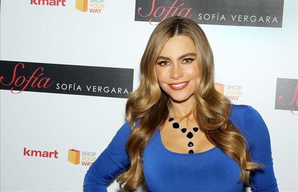 La actriz colombiana Sofía Vergara.