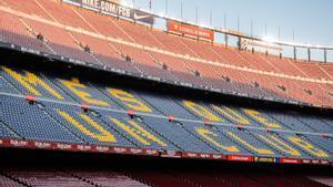 Gradería del Camp Nou.