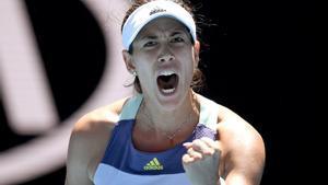 Garbiñe Muguruza se perfila como campeona en el Abierto de Australia.