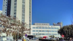 El Hospital de Bellvitge ubicado en l'Hospitalet de Llobregat (Barcelona)