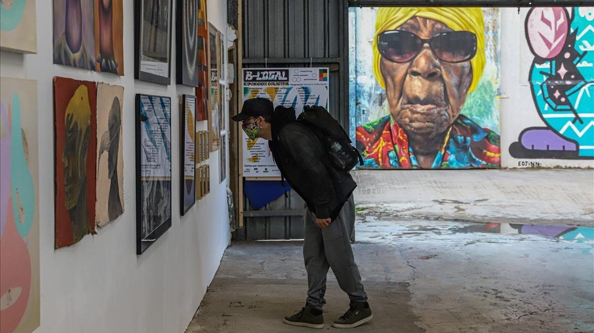 Art urbà entre murs