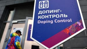 Krasnaya Polyana (Russian Federation) - (FILE) - The Doping Control Station in the Laura Biathlon Center during the Sochi 2014 Olympic Games in Krasnaya Polyana  Russia  21 February 2014 (re-issued on 17 December 2020)  Russia has been banned from competing in the Tokyo Olympics in 2021 and the 2022 FIFA World Cup in Qatar due to state-sponsored doping  the Court of Arbitration for Sport (CAS) has ruled on 17 December 2020  (Rusia  Tokio  Catar) EFE EPA HENDRIK SCHMIDT     Local Caption     53938430