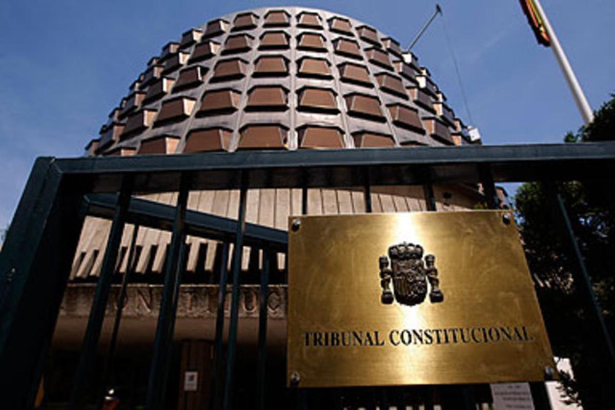 Edificio del Tribunal Constitucional.