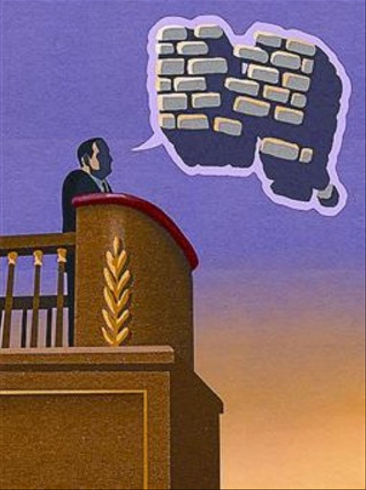 Palabras rotas sin discurso político
