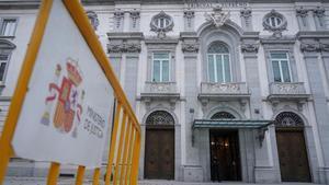 Edificio del Tribunal Supremo enMadrid.