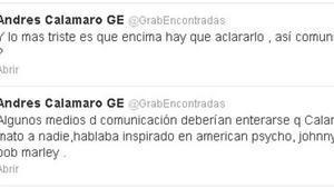 Els aclariments de la representant de Calamaro a Espanya.