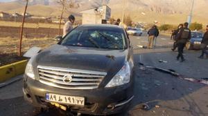 Escenario del asesinato del científico iraní Mohsen Fakhrizadeh