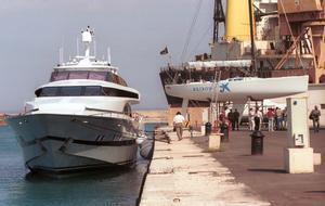 El yate 'Fortuna', sufragado por empresarios de las islas y el Govern Balear.