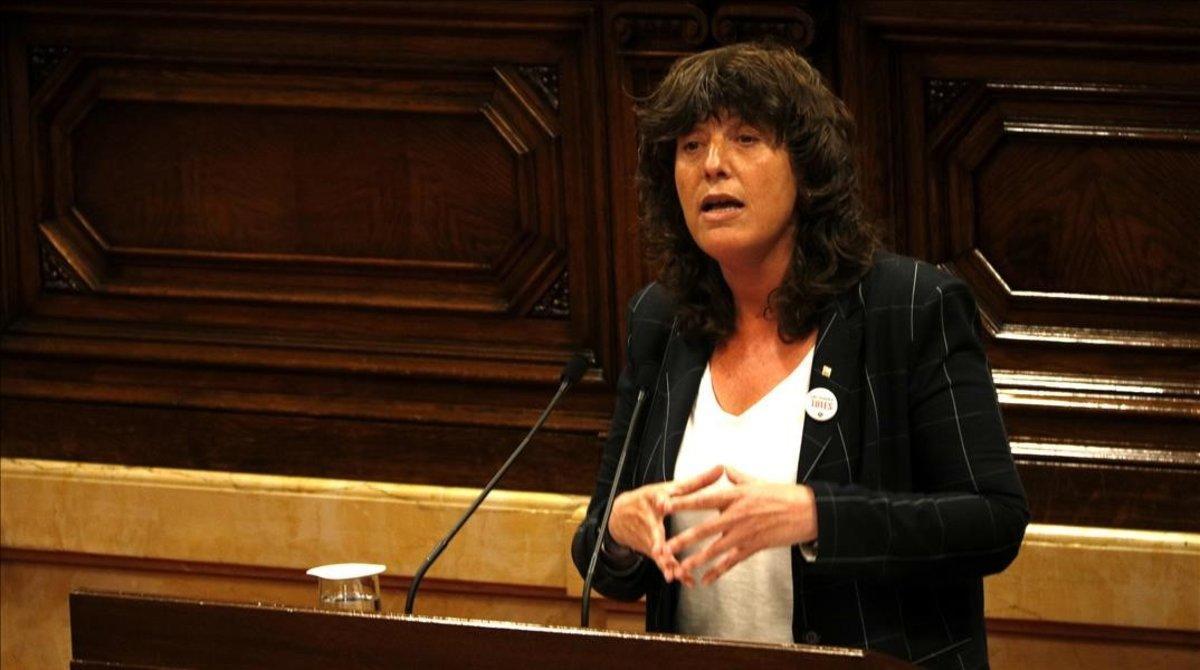 Teresa Jordà, en una imagen de archivo.
