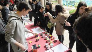 Un ejemplo de las actividades que organizan los alumnos.