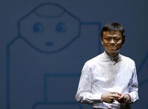 Jack Ma -fundador de Alibaba y hombre más rico de China.