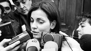 Una joven Nevenka en el 2001