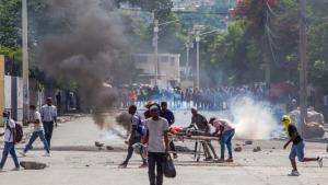 Protestas violentas en Haití por abusos policiales.