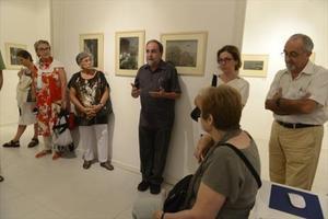 Martí Gasull i Avellán explica l'obra del seu pare, Martí Gasull i Coral, dimarts passat a El Quadern Robat.