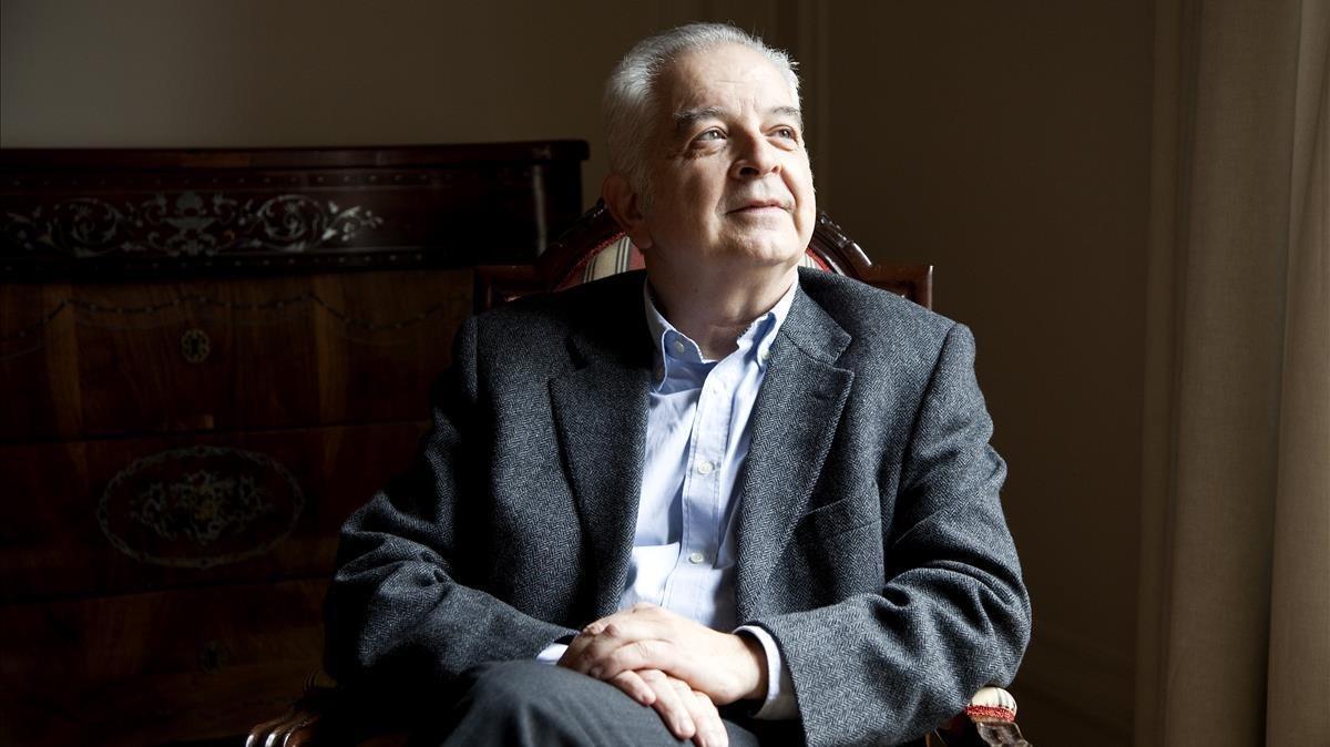 El catedrático Borja de Riquer.
